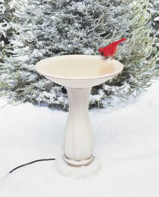 Pedestal and Bowl - Heated