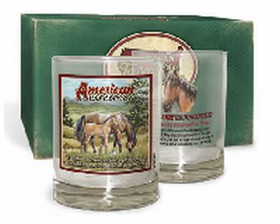 Mustang Tumbler Glass Set