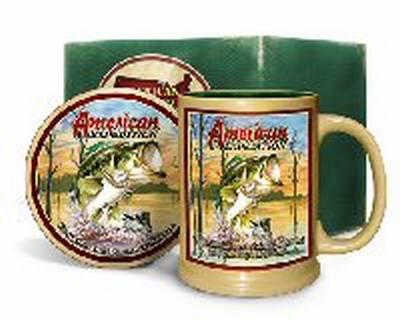 Largemouth Bass Mug & Coaster Set