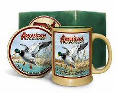 Mallard Duck Mug & Coaster Set