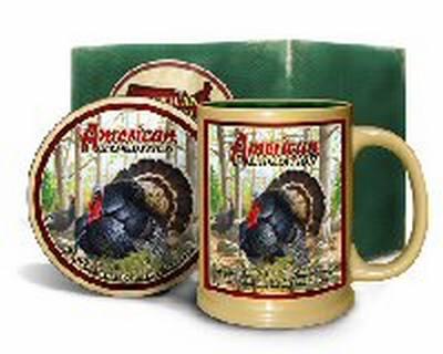 Wild Turkey Mug & Coaster Set