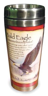 Bald Eagle Steel Mug