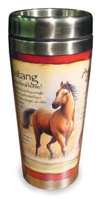 Mustang Steel Mug
