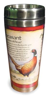 Pheasant Steel Mug