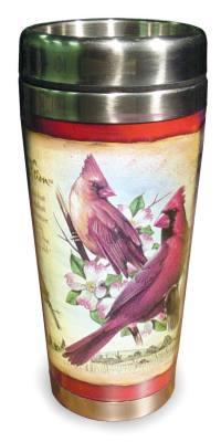 Cardinal Steel Mug