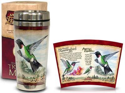 Hummingbird Steel Mug