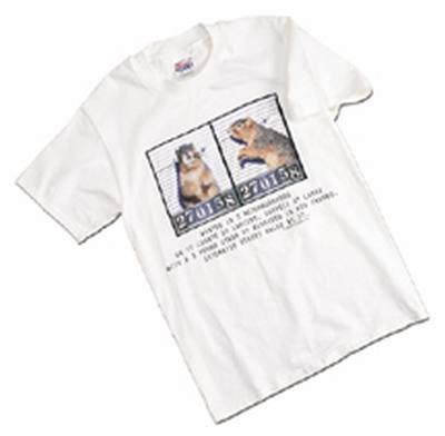 Mug Shot T-Shirt Sizes S, M, L, XL