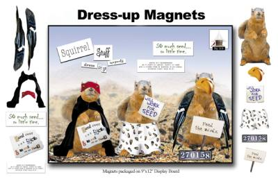Magnet (Squirrel Dress-Up)