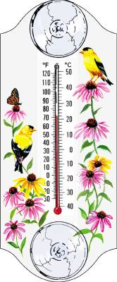 Goldfinch  Window Thermometer