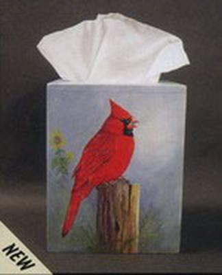 Cardinal Tissue Box