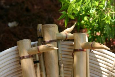 Bamboo Accent's Water Spout 18 inch Adjust Spout & Pump Kit