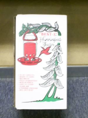 The Original Best-1 Hummingbird Feeder 32 oz  (Boxed)