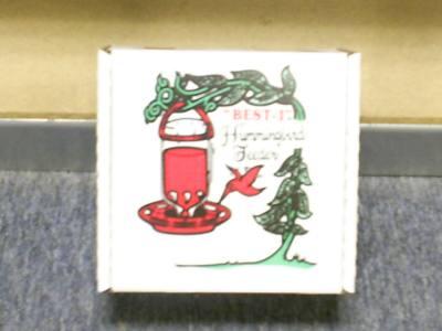 The Original Best-1 Hummingbird Feeder 8 oz (Boxed)