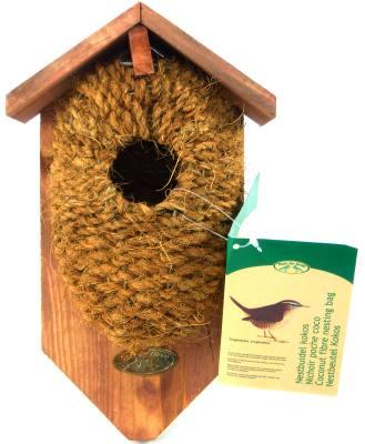 Nest Pocket Coconut Fiber w/roof
