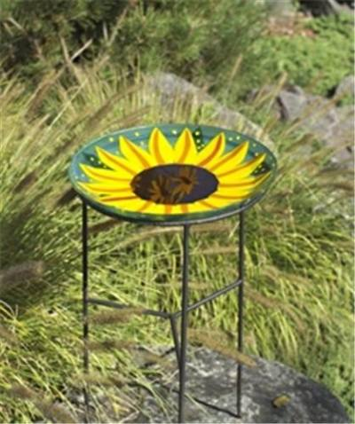 NinArt Bird Bath  - Sunflower