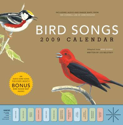 2009 Bird Songs Wall Calendar