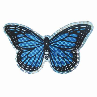 Small Blue Butterfly Door Screen Saver