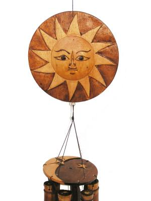 Natural Sun/Moon Wind Chime