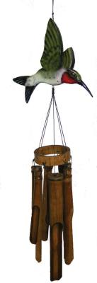 Flat Hummingbird wind chime