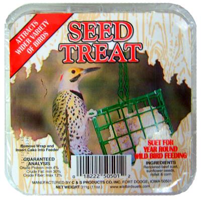 Seed Treat Wild Bird Suet Cake 11.75 oz.