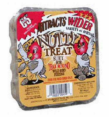 Nutty Treat Wild Bird Suet Cake 11.75 oz.