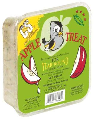 11.75 oz. Apple Treat  Wild Bird Suet Cake