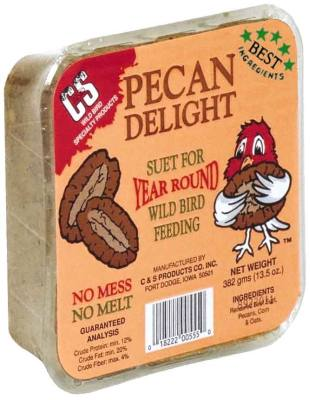 13.5 oz. Pecan Delight/Dough  Wild Bird Suet Cake