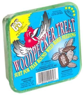 11 oz. Woodpecker Treat  Wild Bird Suet Cake