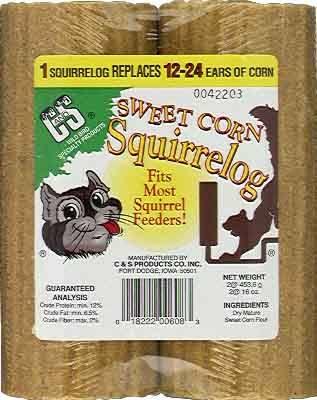 32 oz. Sweet Corn Squirrel Log