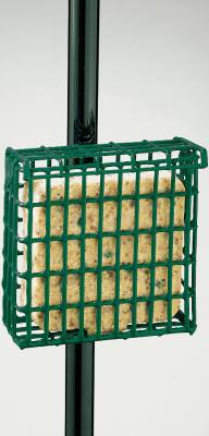 Suet Feeder with Pole Clamp