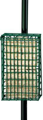 Suet Feeder with Pole Clamp Double