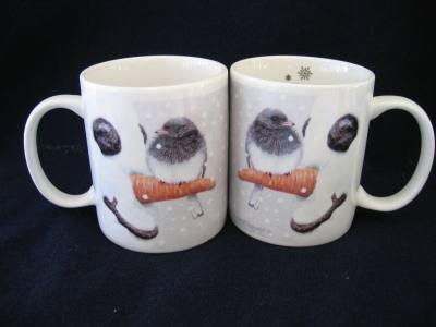Mug 11 oz. Nosey Junco – set of 4