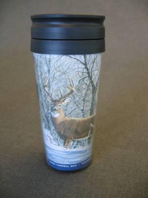 Thermal Mug Winter Whitetail
