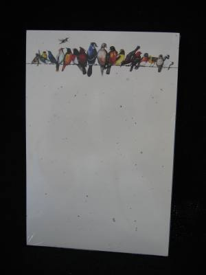 Memo Pad Chorus Line