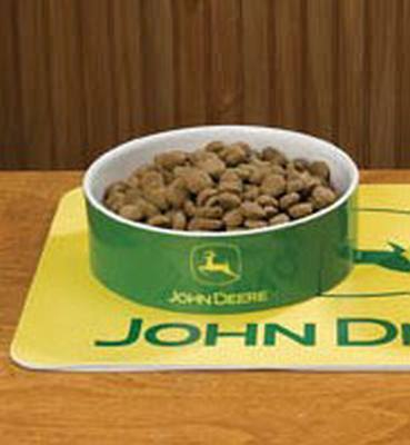 John Deere Pet Bowl Large