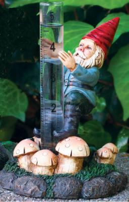 Climbing Gnome Rain Gauge