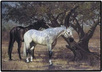 Two Horses Doormat