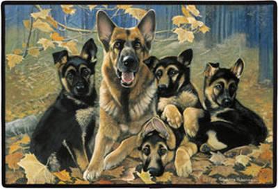 Shepherd Family Porch Doormat