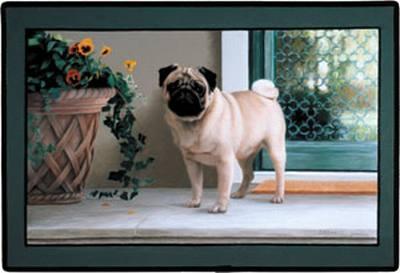 Pug Porch Doormat