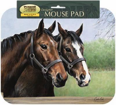 Caroline's Horses Mouse Pad