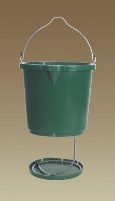 All Seasons Oversized 5 Gal. Flat Back Heated Bucket