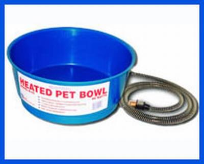 Economical Round Pet Bowl (60 Watt) Blue