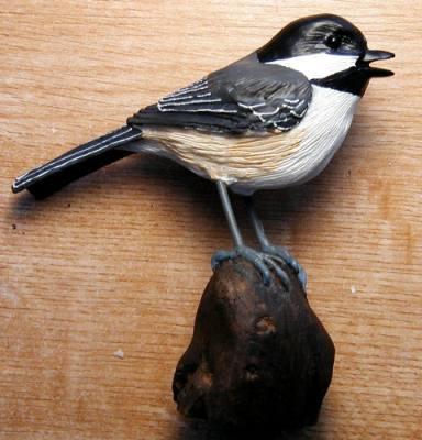 Chickadee (table piece)