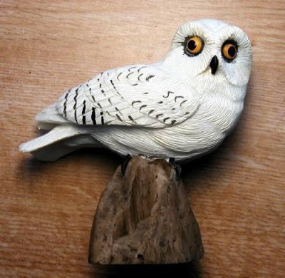 Snowy Owl (table piece)