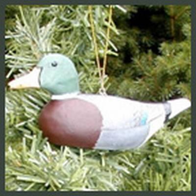 Mallard Decoy Ornament