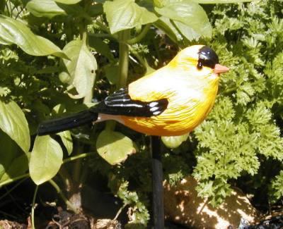 Goldfinch Garden Bird Stick
