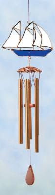 Sailboat Sm. Wind Chimes