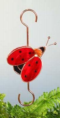 Ladybug-Small Garden Hook