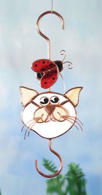 Cat & Ladybug Small Hook