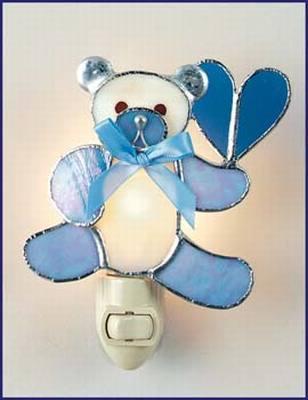 Teddy Bear/Blue Night Light